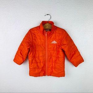 Old Navy Sz 2T Orange lightweights Puffer jacket